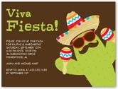 party cactus summer invitation 4x5 flat