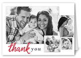 scripted seasons thank you card 3x5 folded