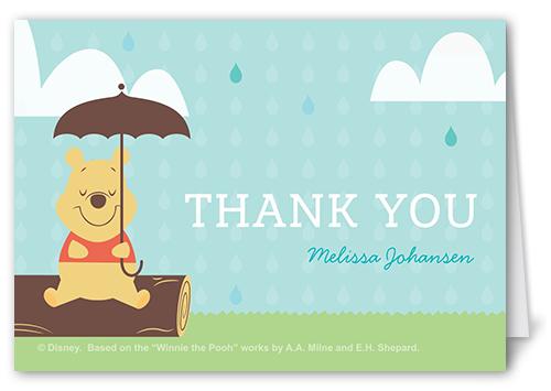 Disney winnie the pooh shower 3x5 folded card by disney shutterfly front m4hsunfo