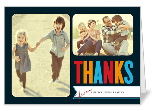 Brightly Thankful Thank You Card