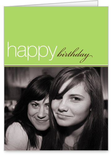 Birthday Lime Birthday Card