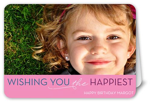 Think Pink Birthday Greeting Cards