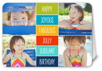 happy joyous fabulous birthday card