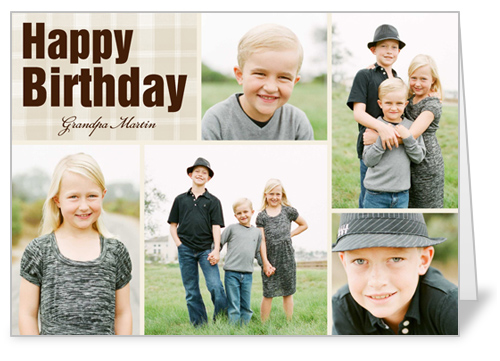 Fond Montage Birthday Card by treat.