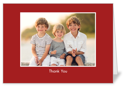 Classic Scarlet Party Invitation