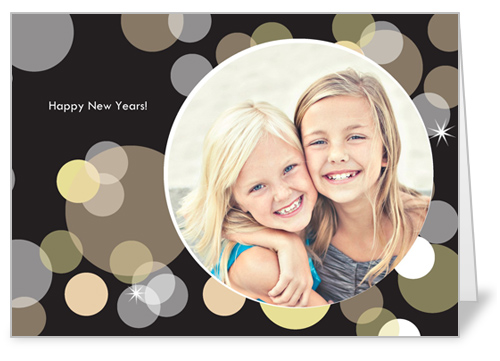 New Year's Bubbles Party Invitation