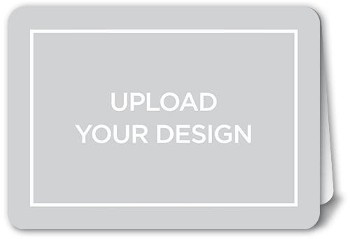 Upload Your Own Design Thank You Card