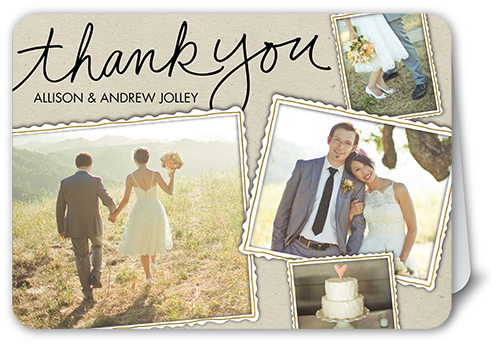 Fun Framed Collage Thank You Cards