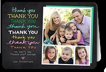a million thanks thank you card