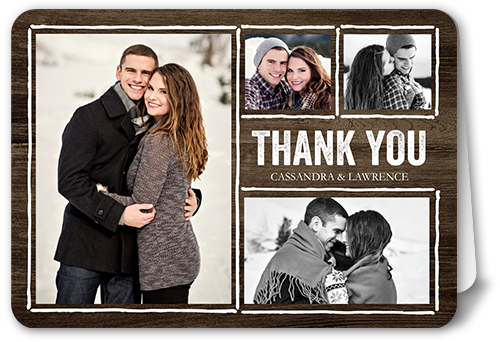 Rustic Enchantment Thank You Card