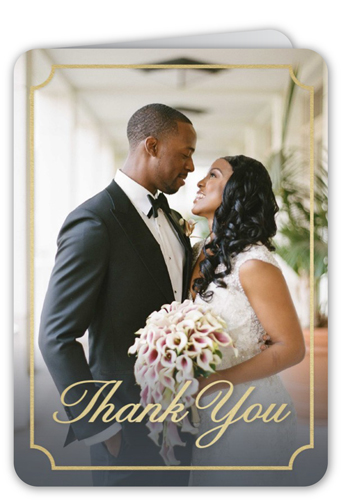 Classic Framed Love Thank You Card