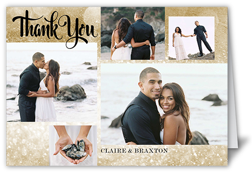 Simple Sparkle Thank You Card