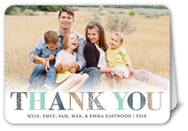 letters of thanks thank you card