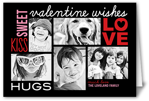 Sweet Love Wishes Valentine's Card
