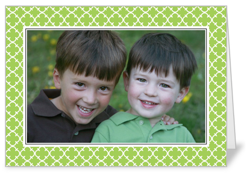 Chic Lime Decor St. Patrick's Day Card