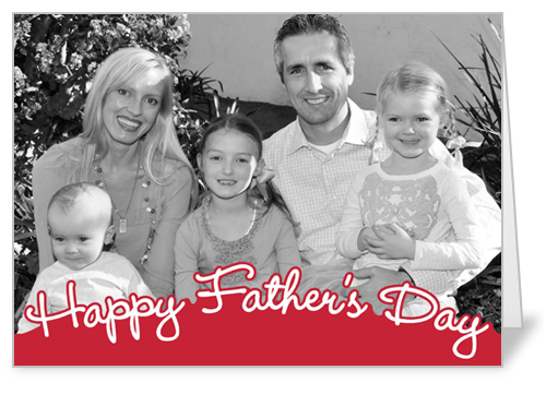 Sweet Script Wishes Father's Day Card