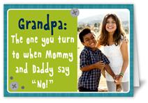 perfect grandpa fathers day card