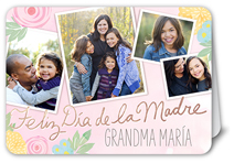 deseos florales mothers day card