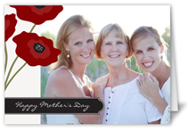 perfect poppies mothers day card