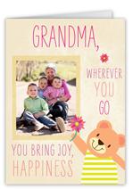 what grandma brings mothers day card