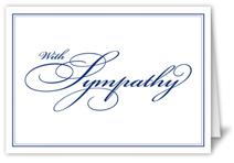simple sympathy sympathy card