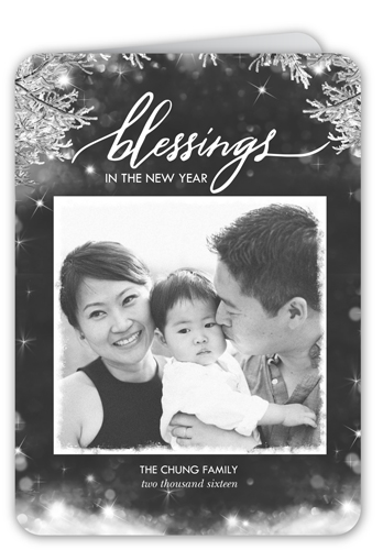 Blessed Branches New Year's Card