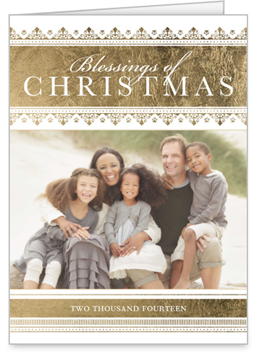 Blessings Of Christmas Religious Christmas Card