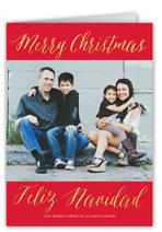 navidad perfecto tarjeta de navidad