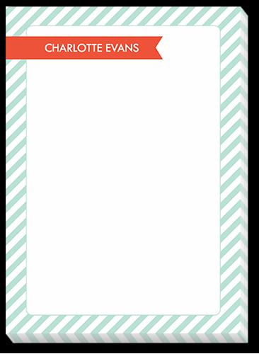 Seersucker Style Notes 5x7 Notepad