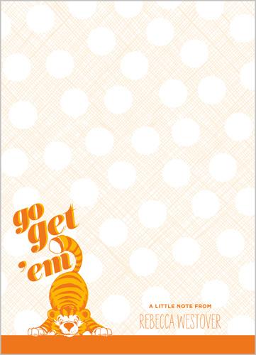 Go Get 'Em 5x7 Notepad