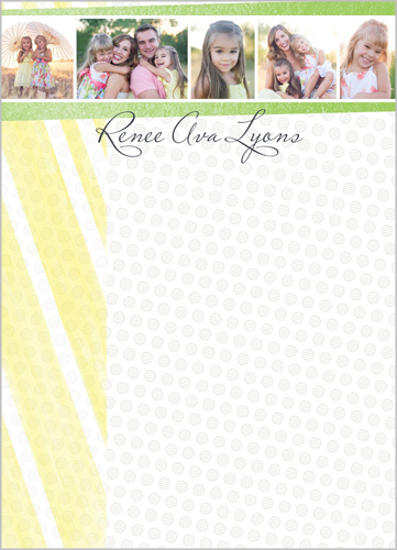 Custom Collage 5x7 Notepad