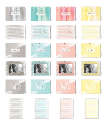 Watercolor Wonder Mix & Match Stationery Set