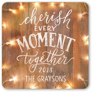 Wooden Cherish Moment Stickers