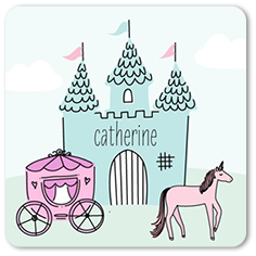 illustrated fairytale stickers