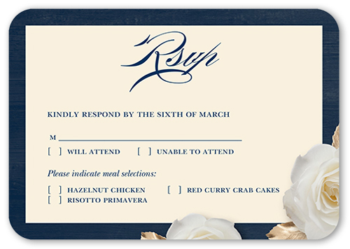 Royal Blue Wedding Invitations Shutterfly