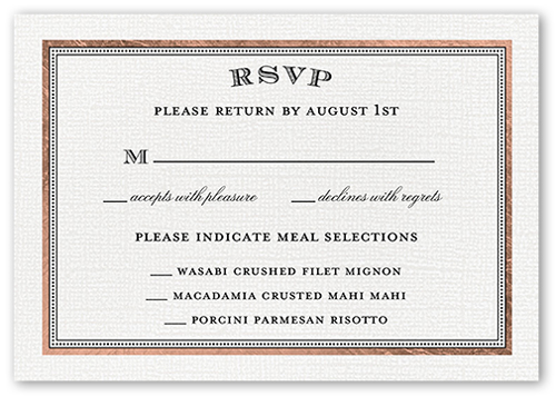 Radiant Love RSVP Cards Wedding Invitations – Wedding Invitations with Rsvp Cards