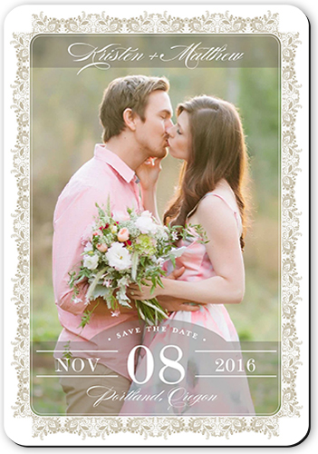 Lavish Lace Save The Date