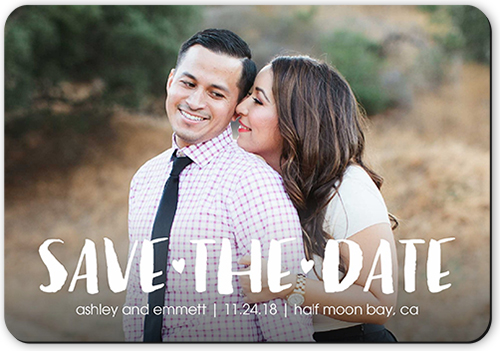 Our Adventure Begins Save The Date