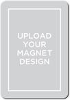 upload your own design valentines card stationerymagnet