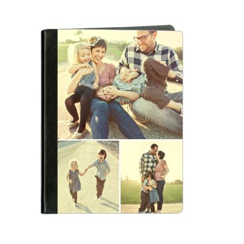 Gallery of Three ipad Case, Black, iPad 1,2,3,4, Multicolor