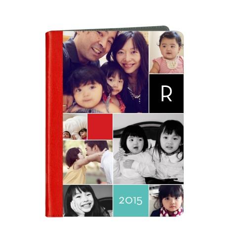 Monogram Memories ipad Case, Red, iPad Air, Air 2, Multicolor