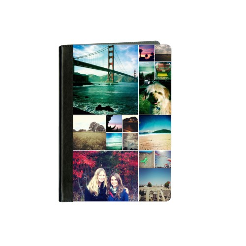 Collage Squares ipad Case, Black, iPad mini, mini 2, White