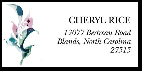 Beautifully Wreathed Address Label