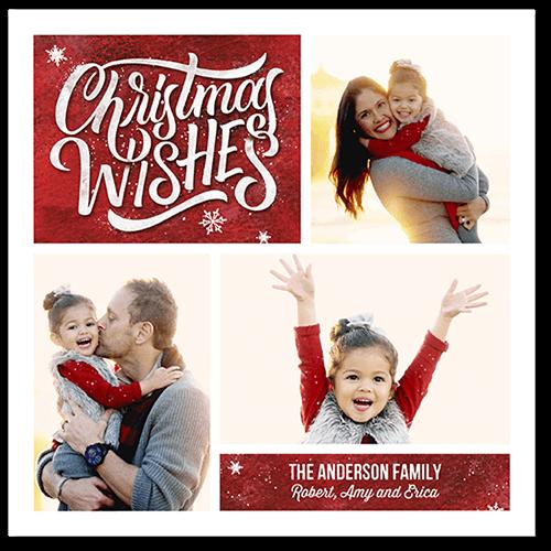 Jubilant Wishes Holiday Card