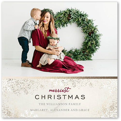 artistic holiday cards shutterfly - Artistic Holiday Cards