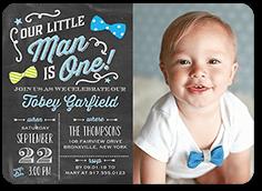 boy birthday invitations tiny prints