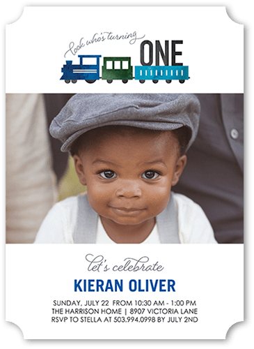 train birthday invitations shutterfly