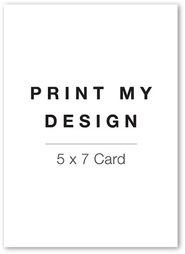 print my design 5x7 unique thank you cards tiny prints