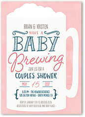 S Baby Shower Invitations Coed