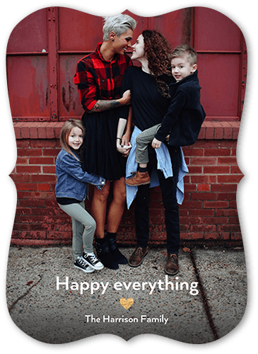 Happy Little Heart Holiday Card